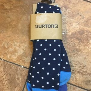 NWT Burton women's weekend tall socks